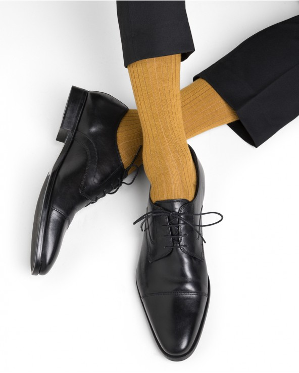 Sokken kasjmier en zijde
