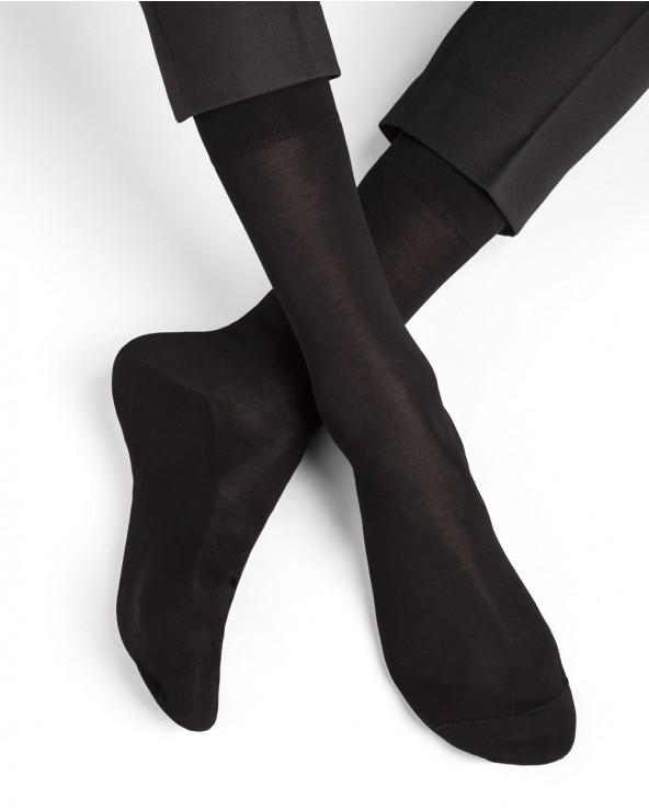 Fijne sokken 100% uitmuntend gemerceriseerd katoen