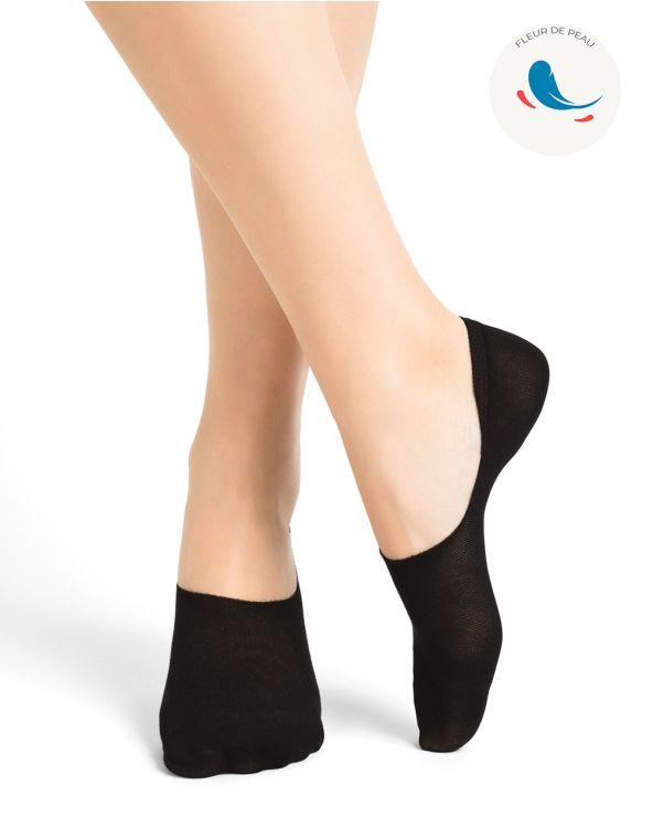Chaussettes invisibles hypoallergéniques ultra-fines coton