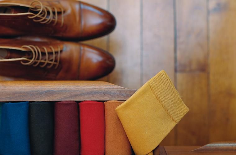Chaussettes homme coton