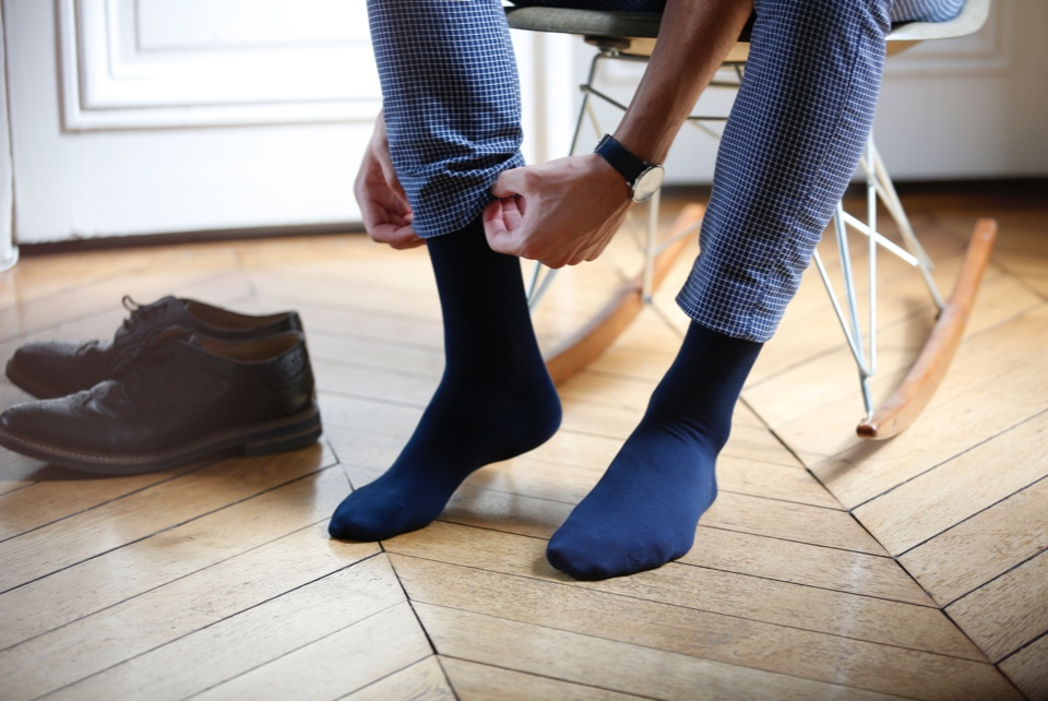 Nos chaussettes grande taille